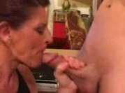 Son Fuck Step Mother In The Kitchen