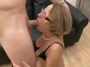 Hot mom fucks her son