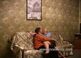 Blonde Mom Seduces Son