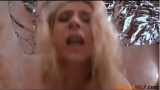 Blonde mom fucked hard