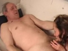 Old Grandpa sex with daughter of his Son