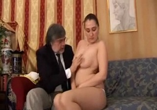 Dad and Daughter from Norway Taboo family sex on couch