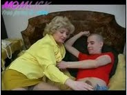 Mom and Son have fun on the sofa