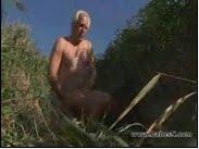 Grandpa Fucking in Beach