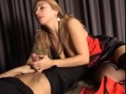 Italian Taboo Family With Sexy Blonde