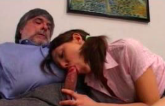 Bad Daddy Decided Teach First Anal Lesson To His Sweet Daughter