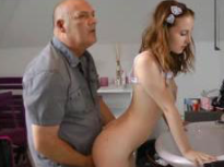 Young Redhead Daughter Fucked By Dad