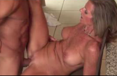Sexy Milf Mom Fucked In The Kitchen