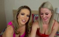 Carmen Valentina And Sydney Paige – Mom And Aunt Trick Young Son into Sex