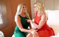 Horny MILF Sisters Share Bed and Fuck Vacation