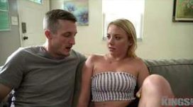 Dixie Helps Her Step Brother Physically through a Hard Time
