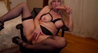 Gartersex Mommy Sucks And Fucks The Cum Out Of You