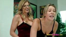 Nikki Brooks And Cory Chase – Stuck Threesome