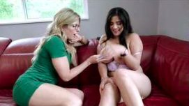 Horny Step Mom Licks Busty Step Daughters Pussy