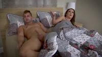 Mom and Son Share a Bed Sex